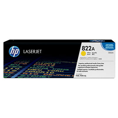 HP Drum, C8562A, 822A, Yellow, 40,000 pg yield