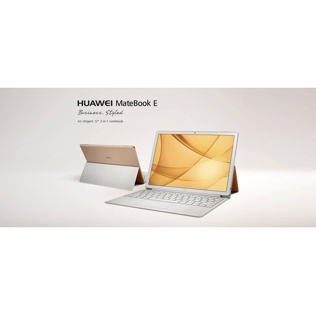 HUAWEI Matebook E 53018900 12 inch Intel Core i5-7Y54 1.2GHz/ 8GB LPDDR3/ 256GB SSD/ USB 3.0/ Windows 10 Home Tablet (Champagne Gold)