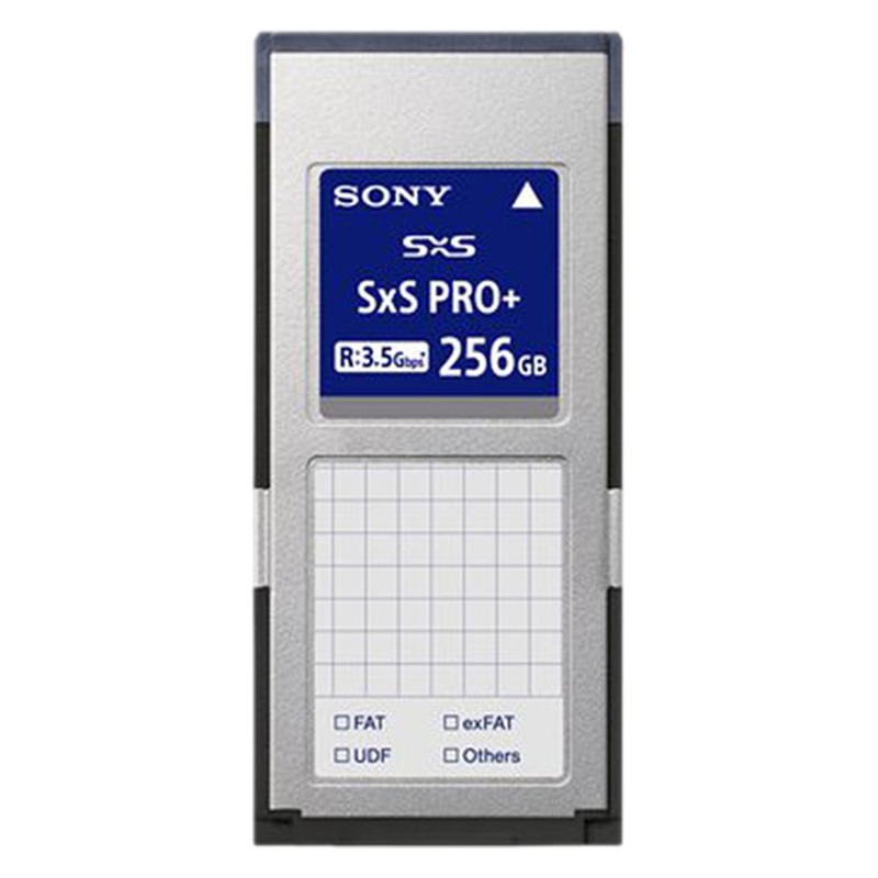 Sony SxS PRO Memory Card, 256GB Read 440MB/s, Write 410MB/s