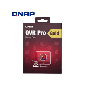 QNAP LIC-SW-QVRPRO-GOLD Premium Feature Package for QVR Pro with Camera Channel Scalability & 8-Channel License