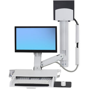 Ergotron StyleView Sit-Stand Combo System with Worksurface