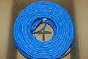 BELKIN FASTCAT6 SOLID UTP 1000 BULK CABLE, BLUE