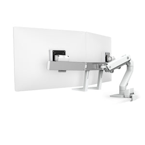 HX DESK DUAL MONITOR ARM WITH TOP MOUNT C-CLAMP