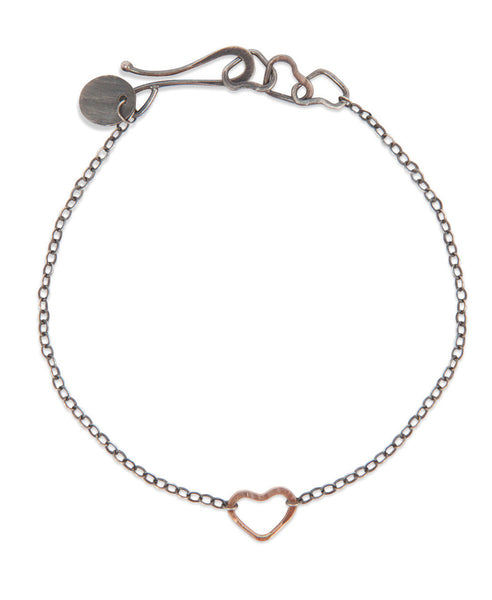 Single Heart Earth Love Bracelet