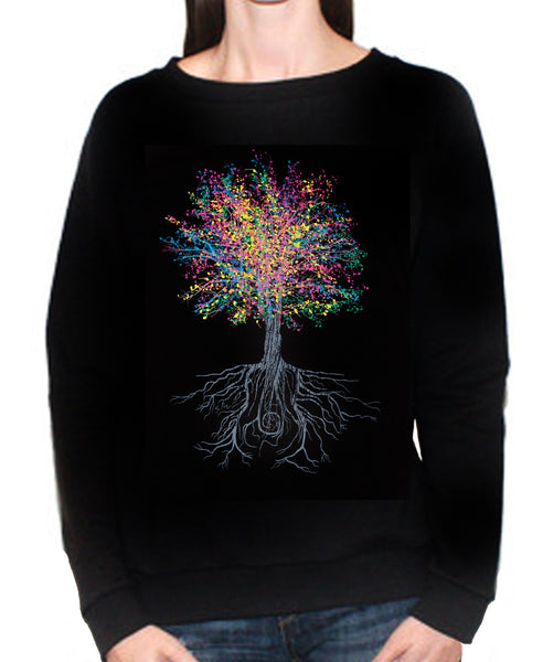 Women's It Grows on Trees Crew Sweatshirt