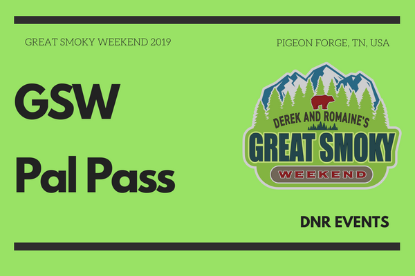 GSW Pal Pass- Great Smoky Weekend 2021