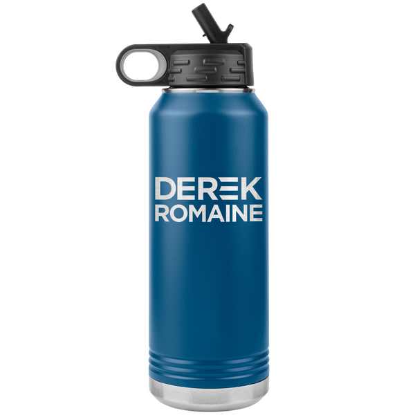 Derek and Romaine Campaign 32oz Water Bottle Tumbler
