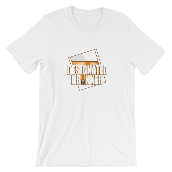 Designated Whiskey Drinker - Short-Sleeve Unisex T-Shirt