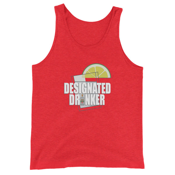 Designated Tequila Drinker - Unisex  Tank Top