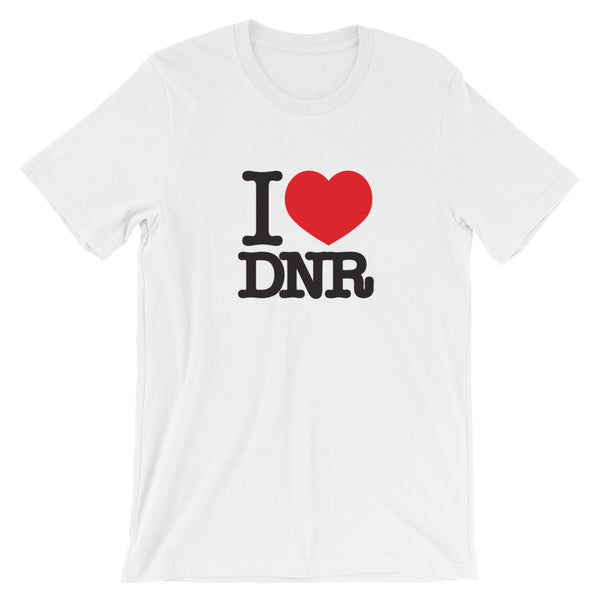 I heart DNR - Short-Sleeve Unisex T-Shirt