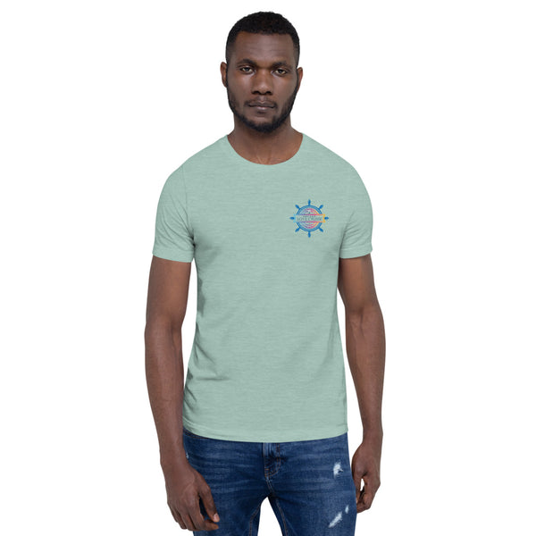 Encore Love Cruise Ship's Wheel- Short-Sleeve Unisex T-Shirt