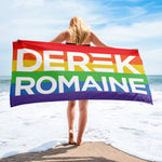 Derek And Romaine Beach Towel