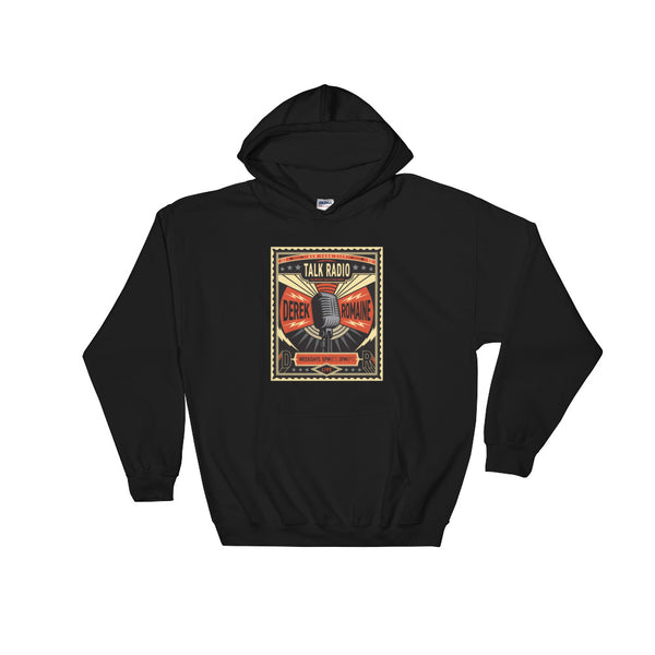 Retro DNR Poster - Hooded Sweatshirt