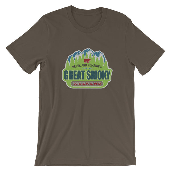 Great Smoky Weekend 2018- Short-Sleeve Unisex T-Shirt