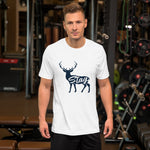 Stag Spirit Animal- Short-Sleeve Unisex T-Shirt