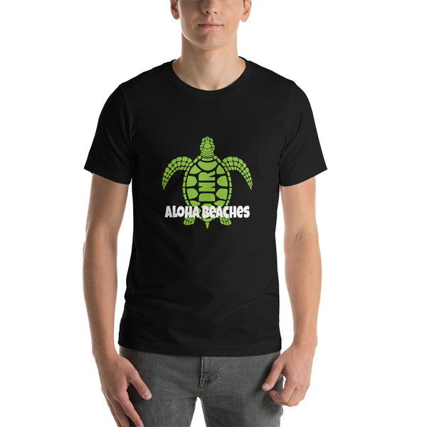Aloha Beaches- Short-Sleeve Unisex T-Shirt