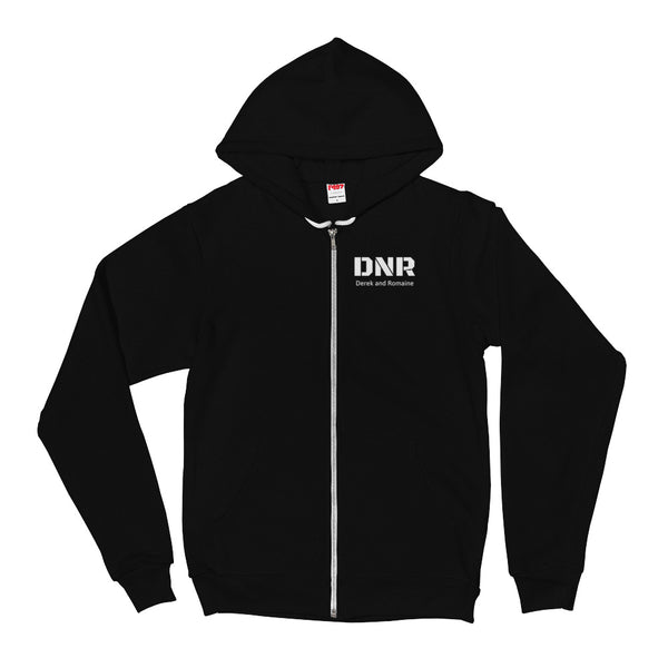 DNR Microphone (back) - Hoodie sweater