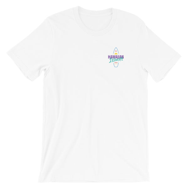 Hawaiian Islands Logo -Short-Sleeve Unisex T-Shirt