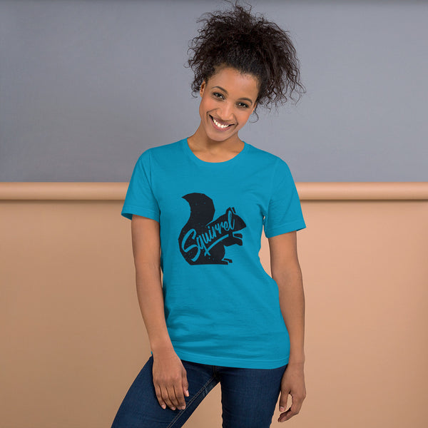 Squirrel Spirit Animal- Short-Sleeve Unisex T-Shirt