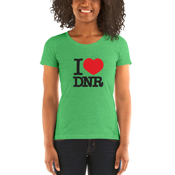I Heart DNR - Ladies' short sleeve t-shirt