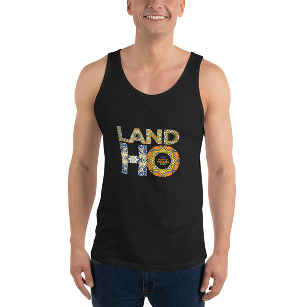 Land Ho- Tile -Unisex Tank Top