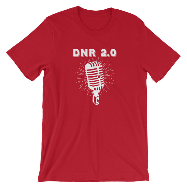 DNR Microphone - Short-Sleeve Unisex T-Shirt