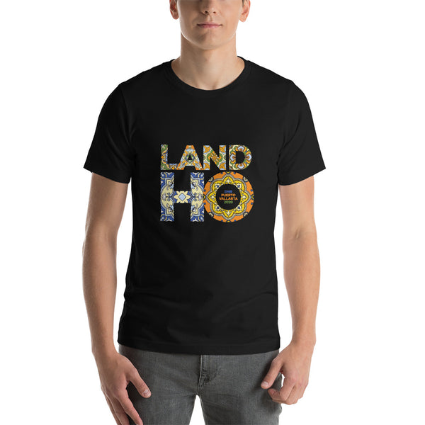Land HO Tile - Short-Sleeve Unisex T-Shirt