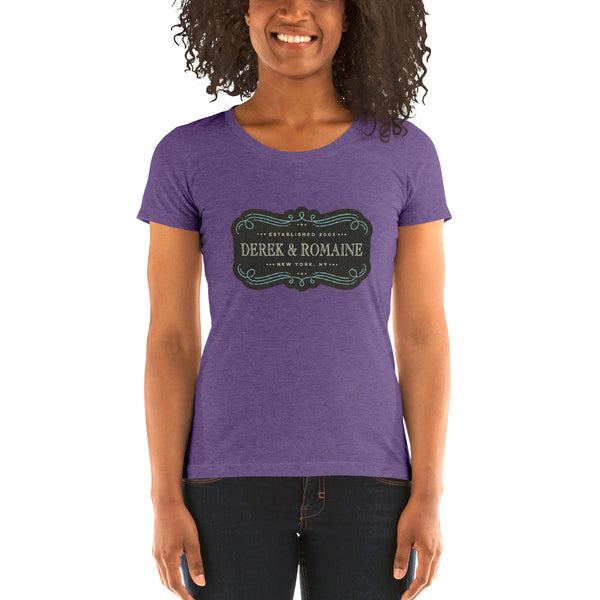 Old School DNR - Ladies' short sleeve t-shirt