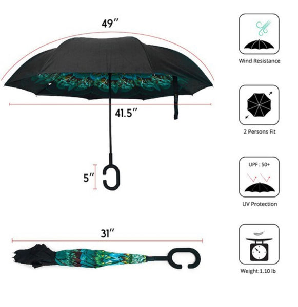 The M.T.A.P., Peacock Umbrella-IN STORE ONLY