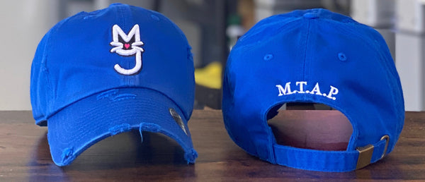 The Monica, Nipsey Blue M.T.A.P. Kitty Distressed Dad Hat