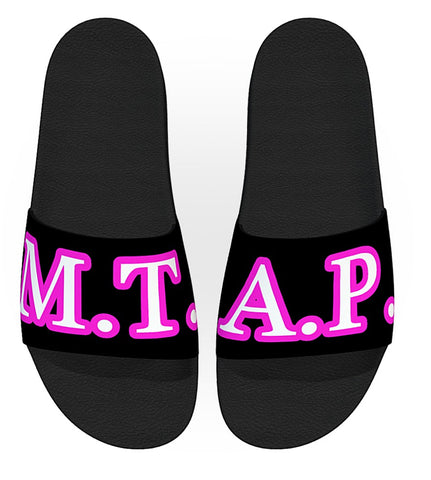 Slide-On sandal with M.T.A.P. logo