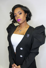 Load image into Gallery viewer, M.T.A.P. Couture Puff Sleeve Blazer