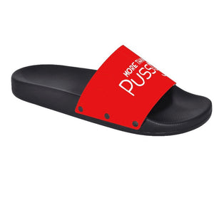 Slide-On Sandal w/white emblem