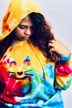 Load image into Gallery viewer, The Simone, M.T.A.P. Kitty Tye-Dye Hoodie