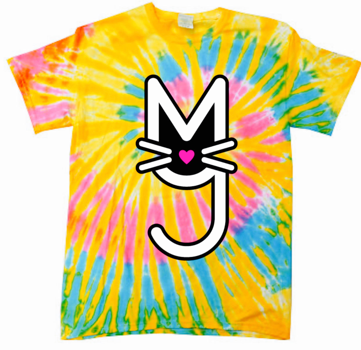 The Simi, Kitty Kat Tie Dye Tee