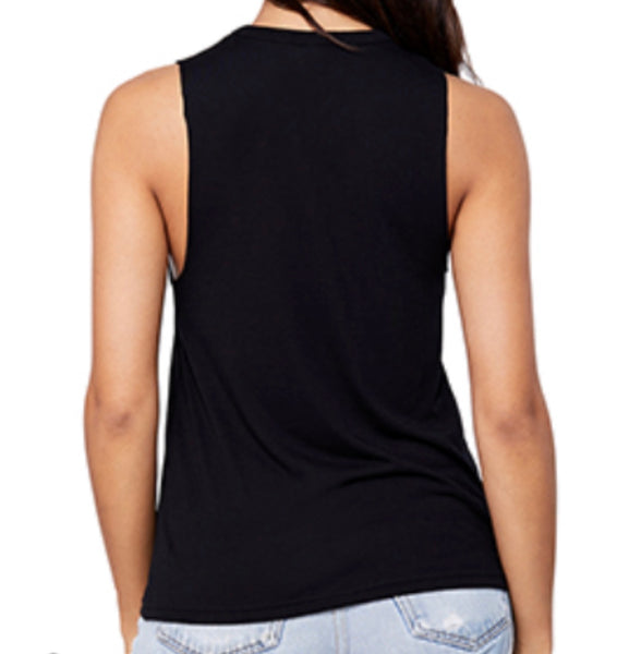 The Nikia, M.T.A.P. Cut out v-neck tank