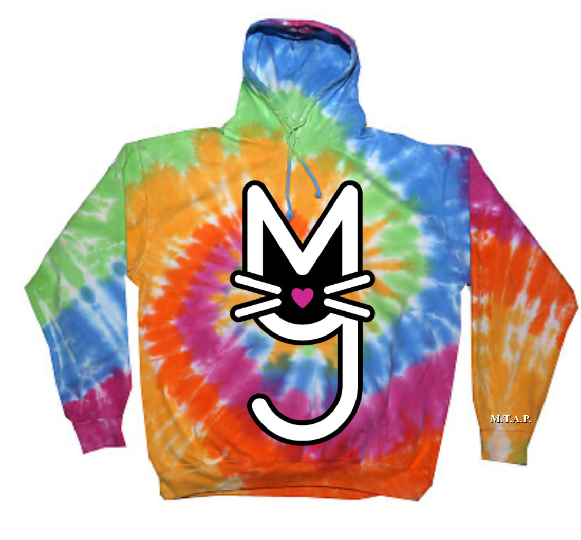 The Angel, Eternity Tie Dye Hoodie