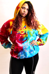 The Simone, M.T.A.P. Kitty Tye-Dye Hoodie