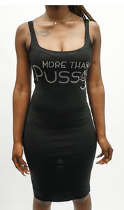The Angie, Bodycon w/rhinestone emblem