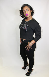 The Niya, M.T.A.P. Crop Fleece Sweatshirt