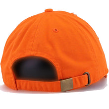Load image into Gallery viewer, The Monica, Neon Orange Distressed Dad Hat