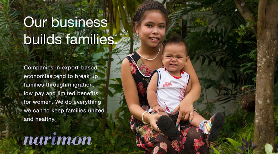 Narimon provides family-friendly work