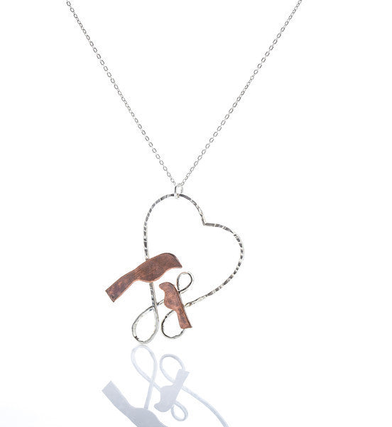 Shared Heart Necklace