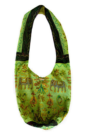 Large Cotton Sling Bag