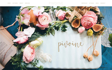 Pivoine Wordpress Design for ProPhoto 6