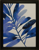 Indigo Tropical Leaves II