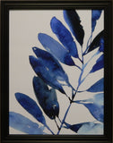 Indigo Tropical Leaves III