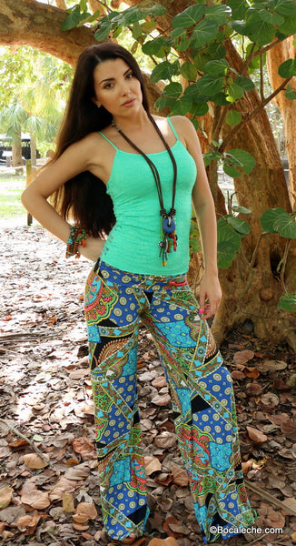 boho colorsmash Exuma pants