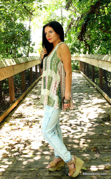 Summer Mint Top Top - BOCALECHE - 3
