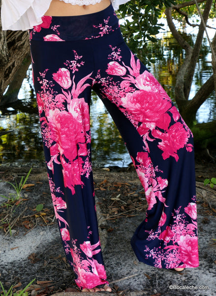 Fearless Floral Exuma Pants - BOCALECHE - 2